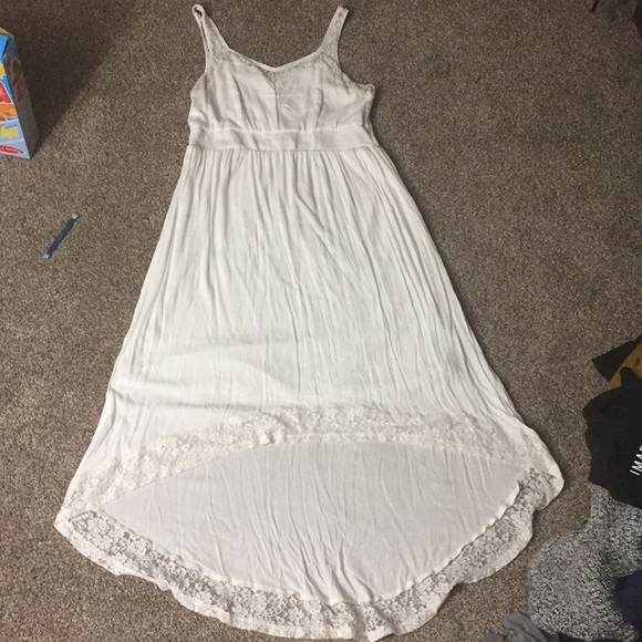 torrid Dresses | Plus Size Cream Lace High Low Dress | Poshmark
